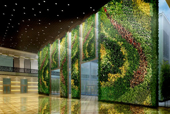 Plants in Wall 1