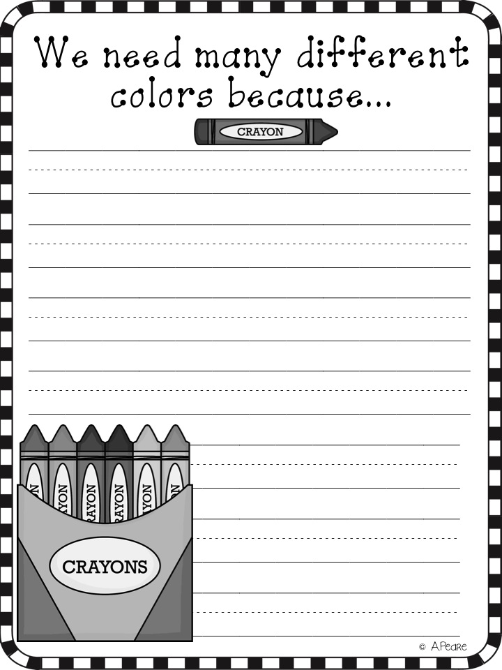 Crayon Box That Talked Coloring Page Coloring Pages - The-crayon-box-that-talked-coloring-page