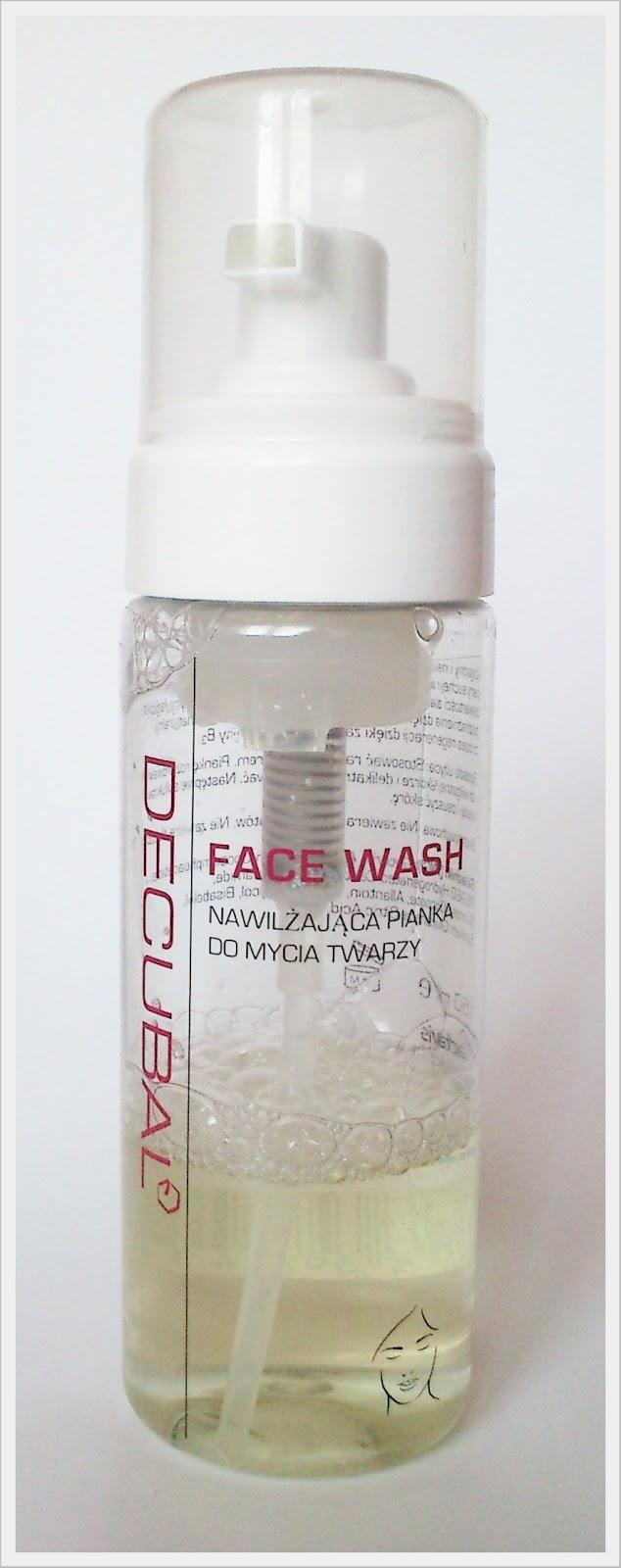 DECUBAL cz. II - pianka do mycia twarzy