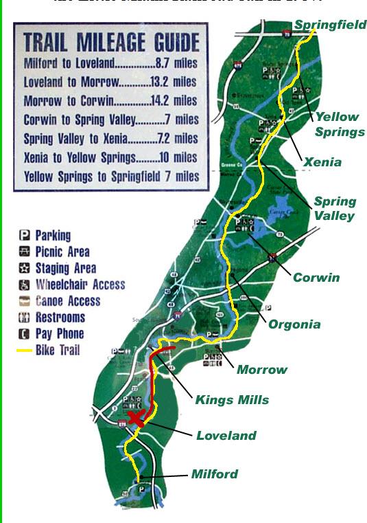 Image Result For Loveland Bike Trail Map