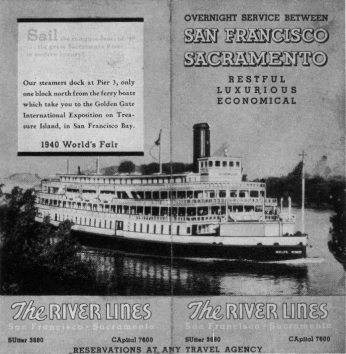 Old Ads Are Funny: 1940 ad: River Lines