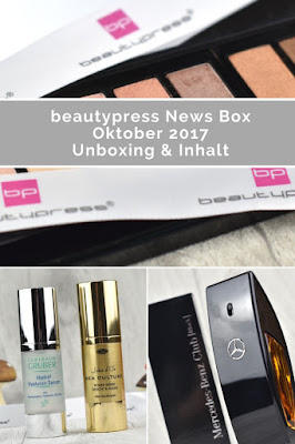 [Unboxing] beautypress News Box Oktober 2017