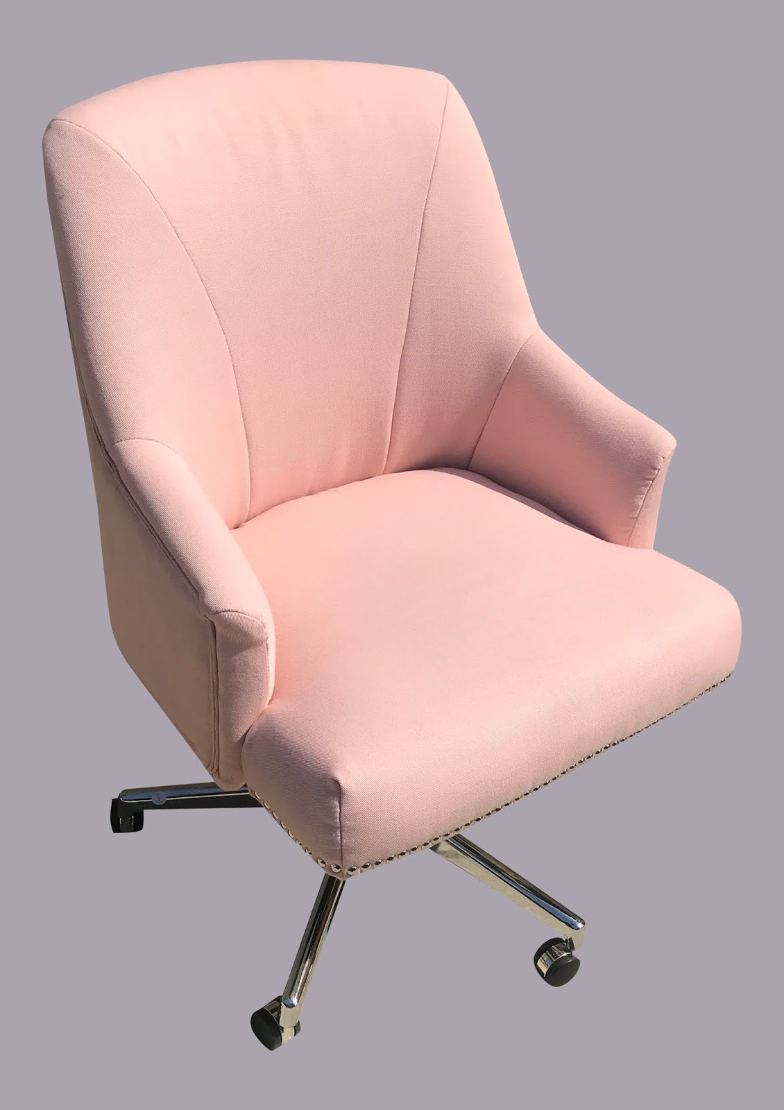 Pink Office Chairs Uhuru Furniture Collectibles Pale Pink Office Chair 95 75 Sold