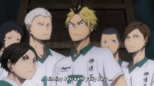 Haikyuu!! Season 2 Episode 18 19 20 21 22 23 24 Subtitle Indonesia