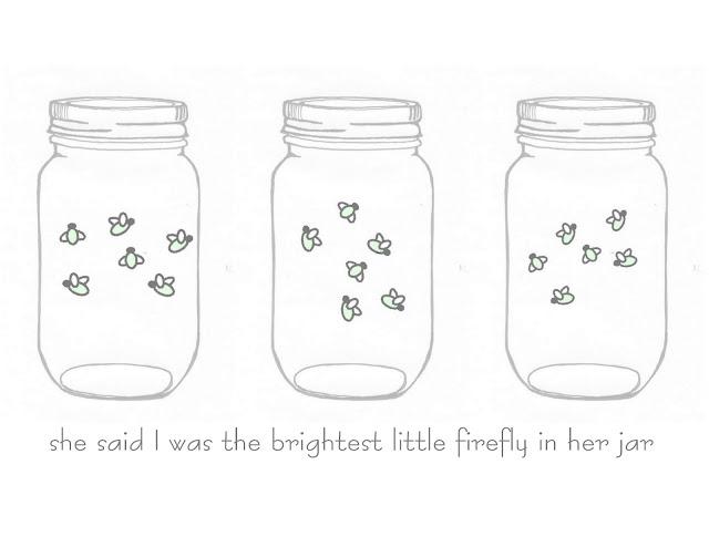 Mason Jar Firefly FREE Printable Art
