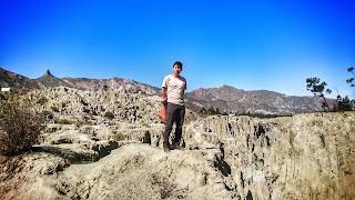 Michi um die Welt: Valle de la Luna (Mondtal) in La Paz -  Bolivien