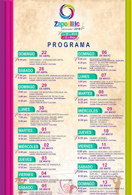 programa feria zapotiltic 2018