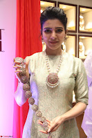 Samantha Ruth Prabhu in Cream Suit at Launch of NAC Jewelles Antique Exhibition 2.8.17 ~  Exclusive Celebrities Galleries 049.jpg