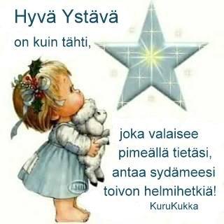 Helmiä elämäni ketjuun: Hyvä ystävä; by KuruKukka