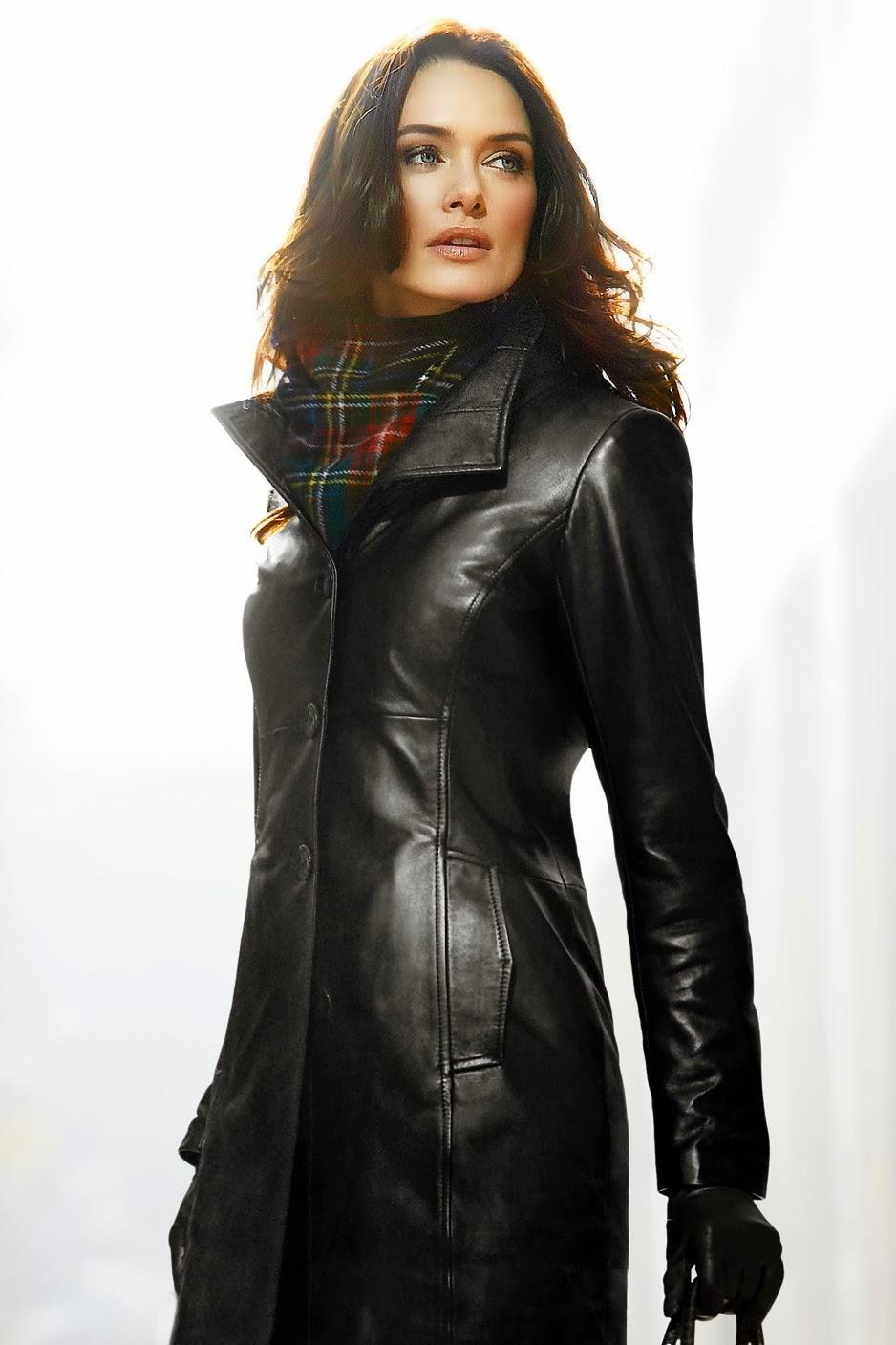 женщины в кожаных пальто фото начале