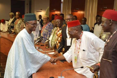 1C - Igbo Quit Notice: Kaduna state governor, Nasir El-Rufai meets Igbo leaders from 19 Northern states (photos)