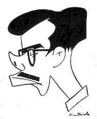 Caricatura de Antonio Medina