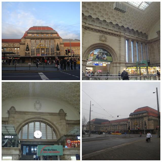 Dicas práticas para viajar de trem e ônibus na Alemanha - estação de Leipzig