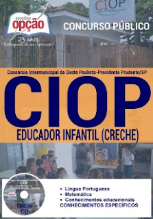 Apostila CIOP Presidente Prudente, Educador Infantil (Creche)