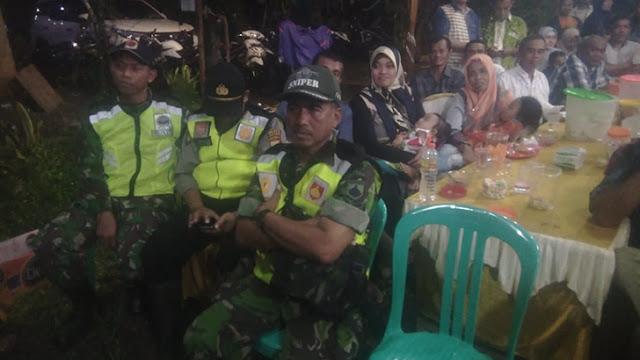 Sinergitas TNI Polri Dalam Pengamanan Dangdut Di Jerukwangi