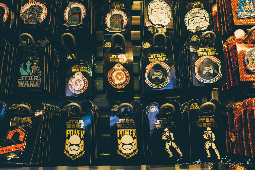 Courtney Tomesch Disneyland Star Wars Pins