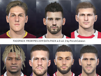 PES 2018 Faces Converted v2 From PES 2019 DP4 by PolishCatalan