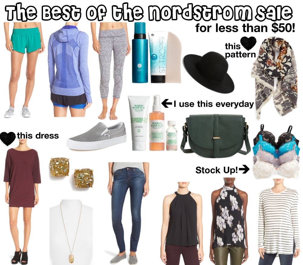 The best of the Nordstrom sale for less than $50 | what are the best deals in the nordstrom anniversary sale | nordstrom anniversary sale guide | what to buy from the nordstrom anniversary sale | a memory of us
