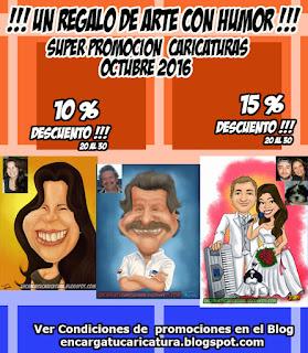 PROMOCION CARICATURAS OCTUBRE 2016 (20 AL 30 )