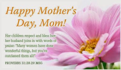 Happy Mother day wishes for mother: her children and bless her