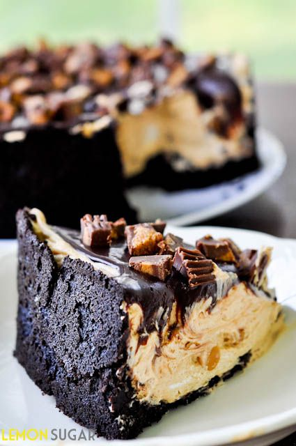 Not for the weak of heart, this chocolate and peanut butter torte is a peanut-butter lover's dream. Keep the ice-cold milk nearby! Recipe source: Slightly adapted from Annie's Eats