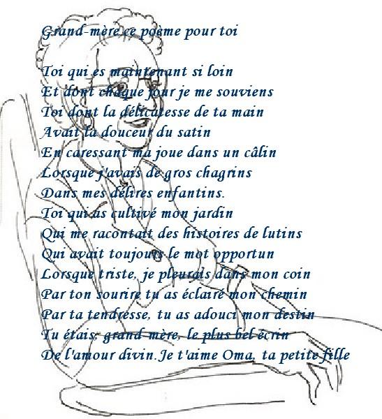 Texte Pour Sa Grand Mere Décédé : texte, grand, décédé, Tendance, Info:, Poème, Grand-mère