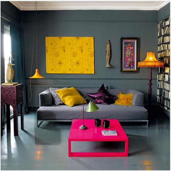 SALA GRIS LIVING DE COLOR GRIS O PLOMO GRAY LIVING  SALAS Y COMEDORES DECORACION DE LIVING