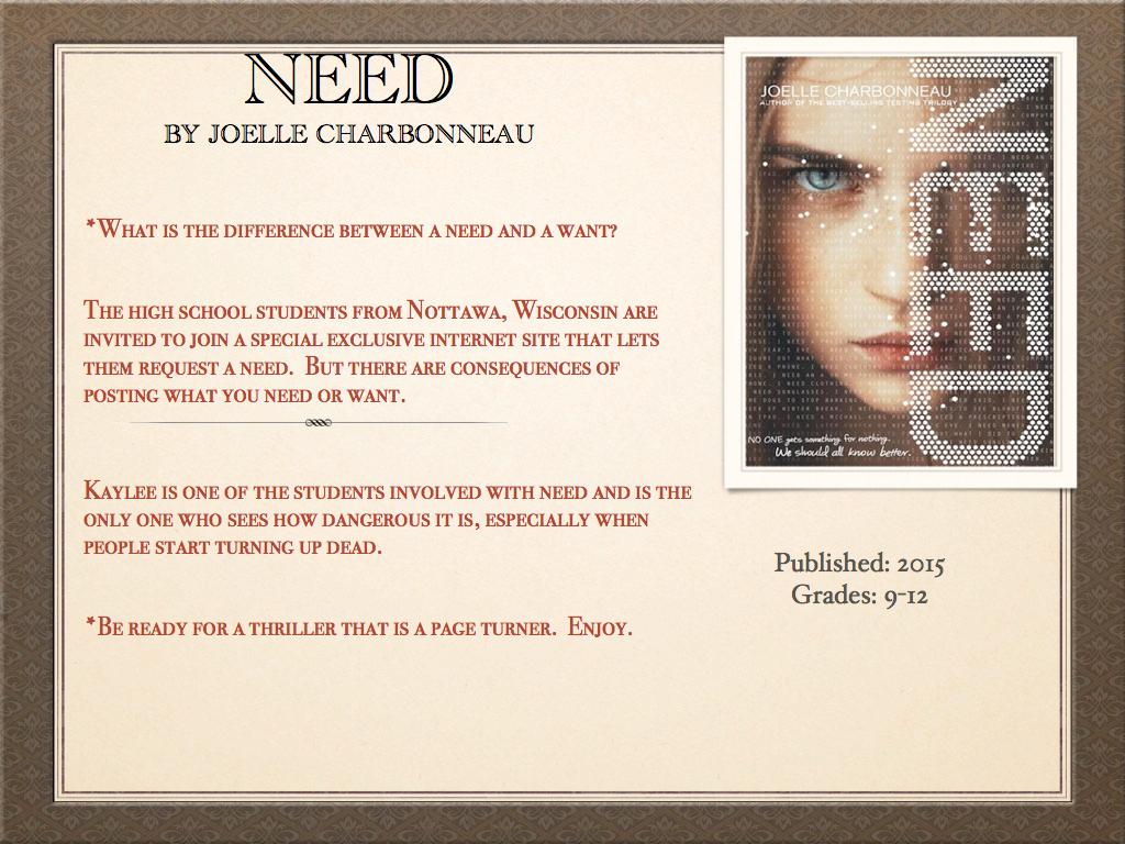 Joelle Charbonneau Independent Study Epub