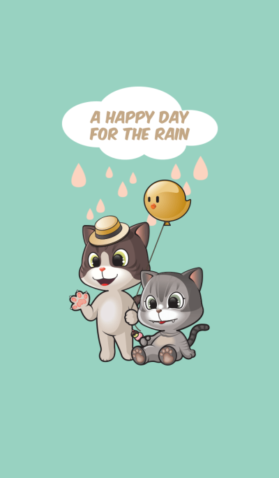 A happy day for the rain