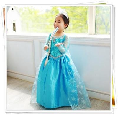 Accessories Ulang Tahun Anak Tema Frozen
