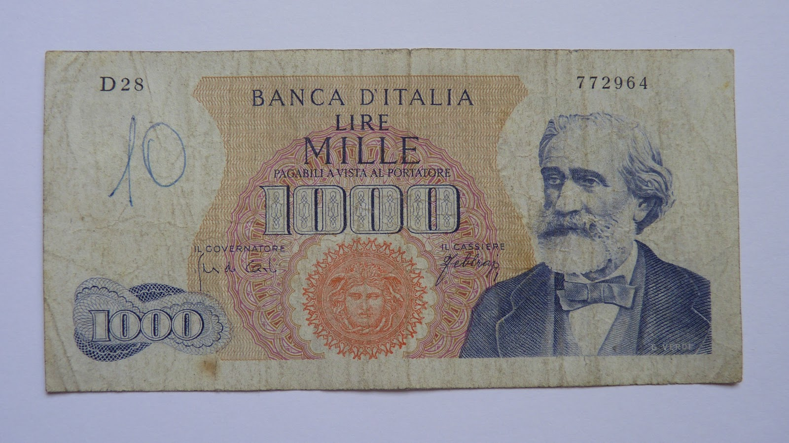 Italy 1963 1974 Banknotemaniac
