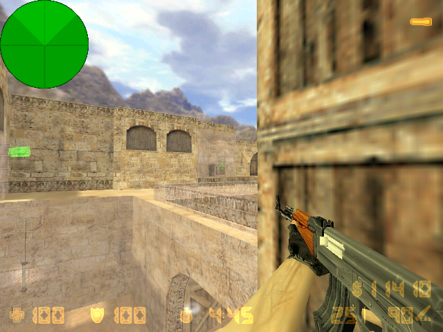 counter strike  transparent walls map package