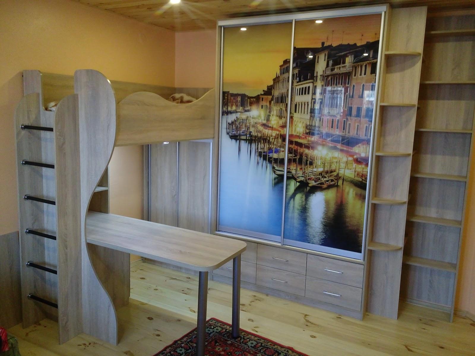 Виготовлення меблів на замовлення Рівне  Дитячі меблі 0e5f86a49a213