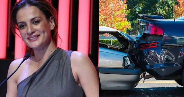 H Ματσούκα τράκαρε και επιχείρησε να φύγει γιατί το αυτοκίνητό της ήταν ανασφάλιστο