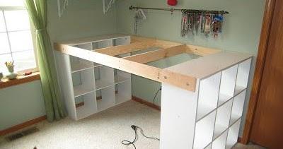Comment construire un bureau partir d 39 tag res ikea combattre pour un - Construire son bureau ...
