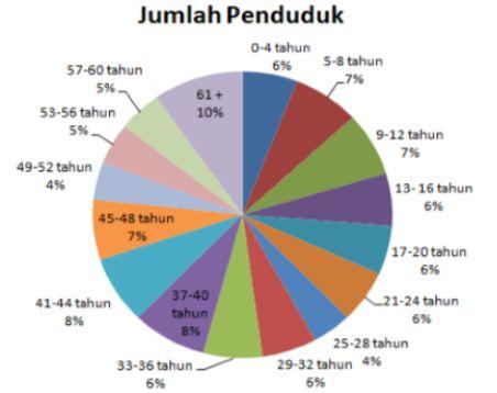 Data kependudukan berdasarkan grafik penduduk grafik penduduk berbentuk kue ccuart Gallery