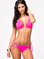 Johanna Lundback hot bikini body photo shoot for Nelly swimwear
