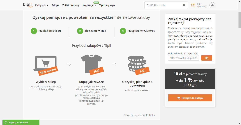 Czy wydawanie = oszczędzanie, czyli zakupy z Tipli.pl