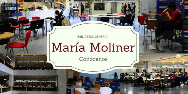 Si aún no has entrado a la Biblioteca General María Moliner, entra y conócenos!!!