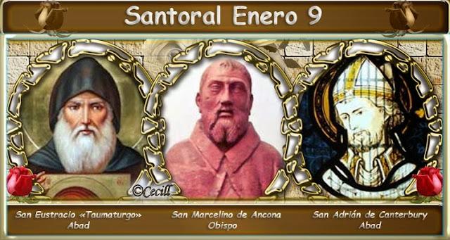 Resultado de imagen de Santoral del 9 de enero