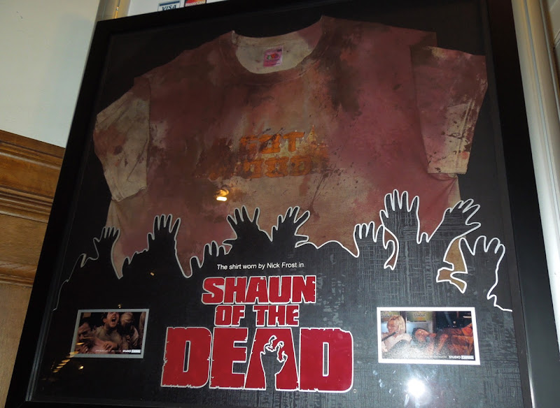 Nick Frost Shaun of the Dead tshirt
