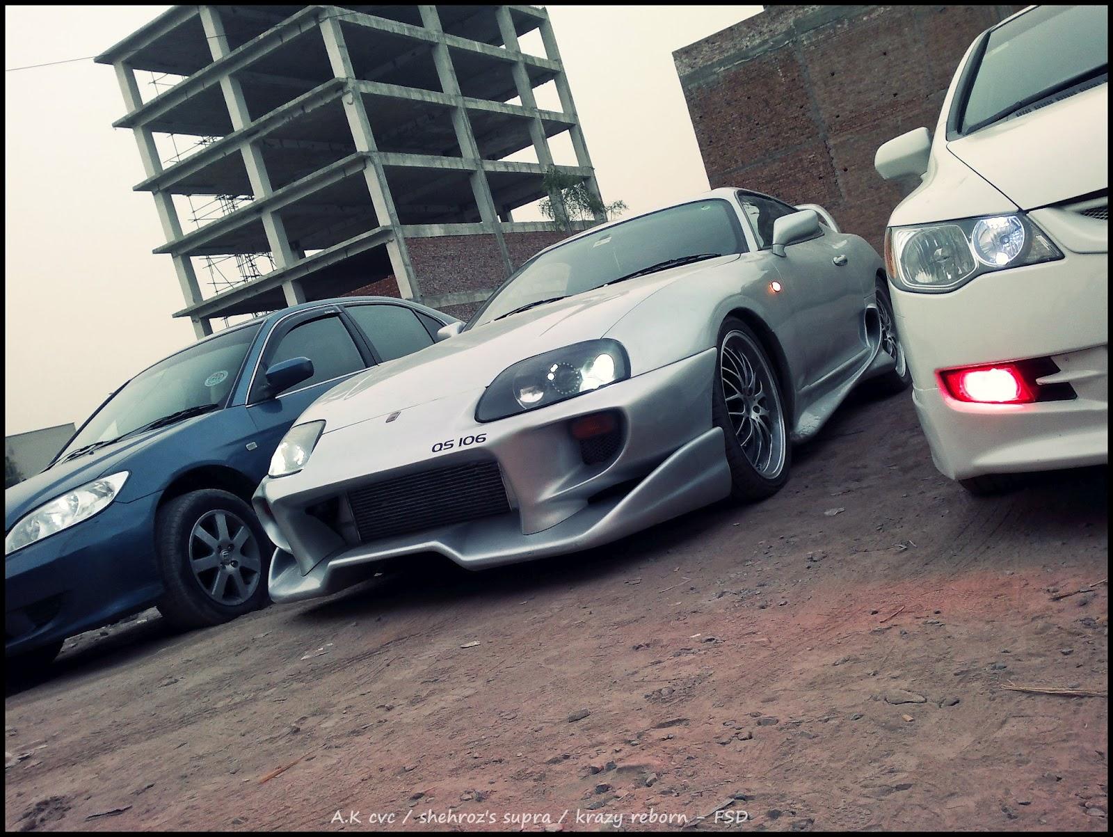 Krazy Car: Shehroz's Supra And Krazy Reborn