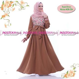 Gamis Michan Hijab kayla MCN 204