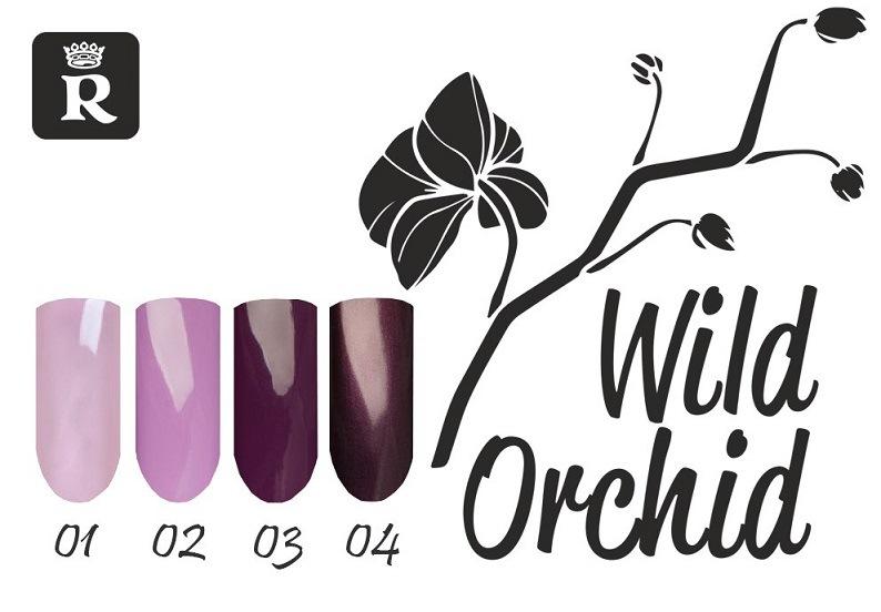 Relouis. Лак для ногтей Wild Orchid тона