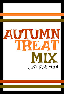 Fall Treat Mix with Printable tags