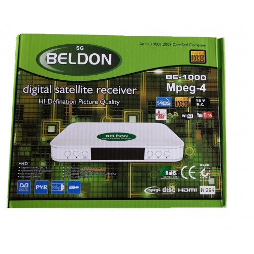 sgBELDON BE-1000 DVB-S2, MPEG-4, FullHD Digital Set-Top Box