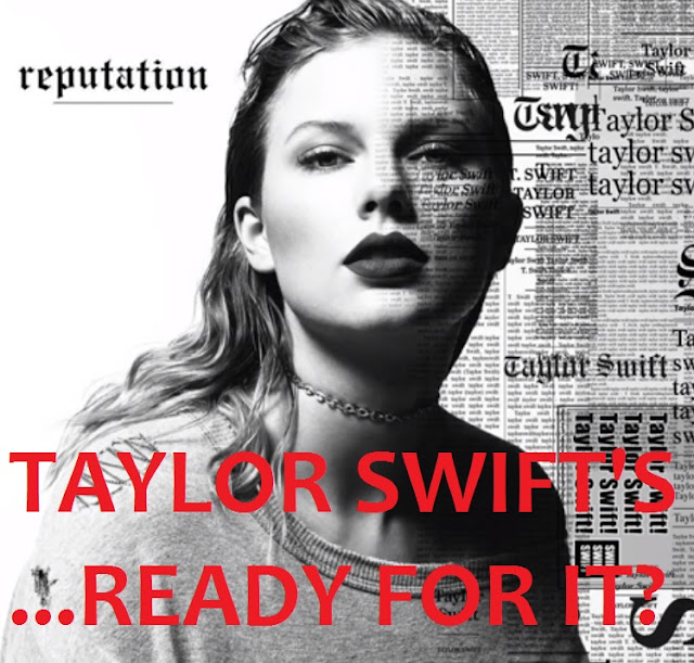 Taylor Swift releases second single '...Ready for it?' from album 'Reputation'