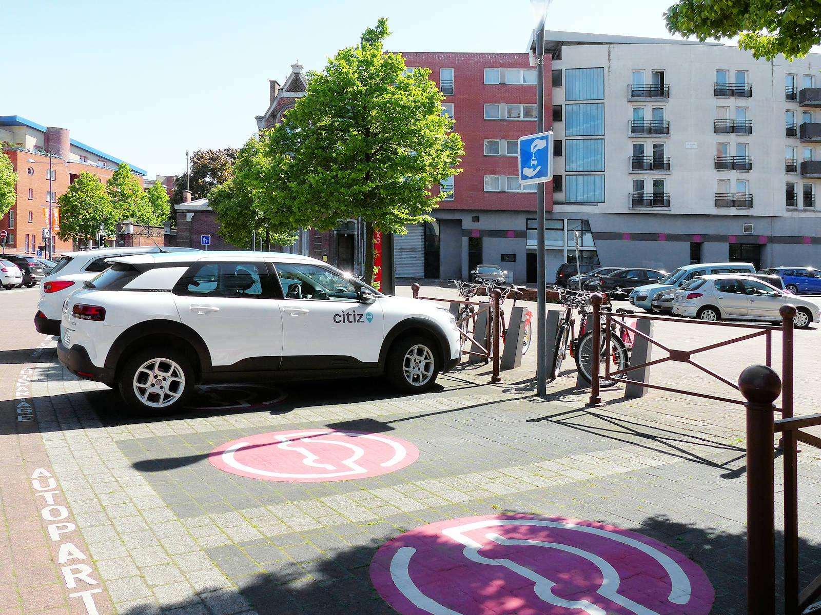 Autopartage Citiz Cavell, Tourcoing