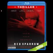Operación Red Sparrow (2018) BRRip 720p Audio Dual Latino-Ingles