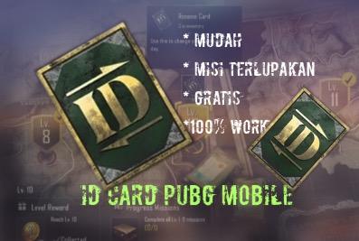 Car Dapat ID Card Pubg